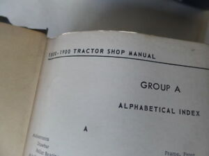 Oliver 1800 1900 Tractor Service Repair Shop Manual Original