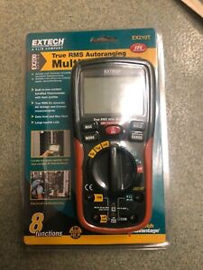 Extech Ex210t True Rms Multimeter With Ir Thermometer Brand New Original