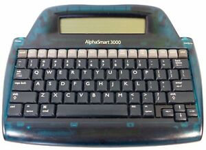 Lot Of 5 Alphasmart 3000 Portable Word Processors Great For Writers Used