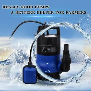 1 2 Hp Electric Submersible Water Pump Flooding Pool Farm Pond Drain 2000 Gph