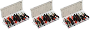 Czaca Alligator Clip Clamp Assortment Electrical 60 Pc Set By Ctt pack Of 3