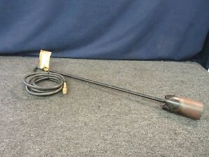 Propane Blow Torch Asphalt Burner Weeds Brush Paint Cleaning Heat 10 Ft Hose