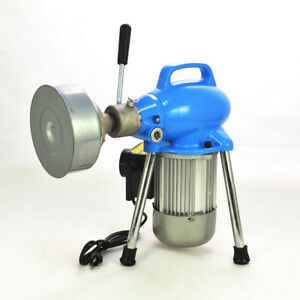 500w Dia 3 4 4 Sectional Electric Pipe Drain Cleaner Cleaning Machine Ip44