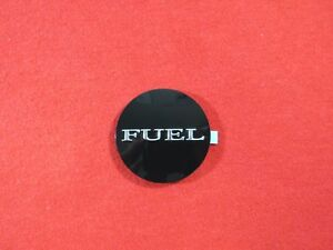 Dodge Challenger Fuel Filler Door Fuel Emblem Badge New Oem Mopar