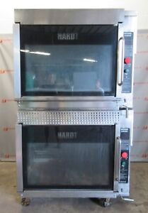 Hardt Inferno 3500 Double Stacked Natural Gas Rotisserie Chicken Oven