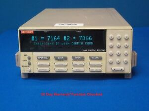 Keithley Instruments 7001 Switch control System Mainframe