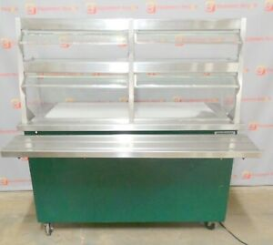 Delfield Shelleyglas Kcft 60 nu Chilled Food Counter Serving Prep Station