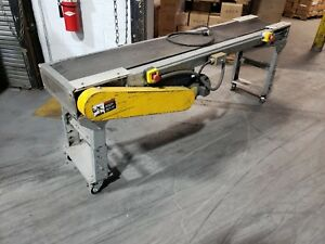 7ft Fixed Speed Belt Conveyor 12 Wide Belt