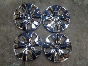 2012 13 14 15 2016 Set Of 4 Cruze 16 Hubcaps Wheels Covers Chrome 3294