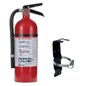 Fire Extinguisher 5lb Mounting Bracket Dry Chemical Residential Rechargeable New