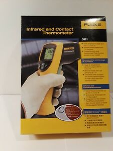Fluke Infrared And Contact Thermometer 561