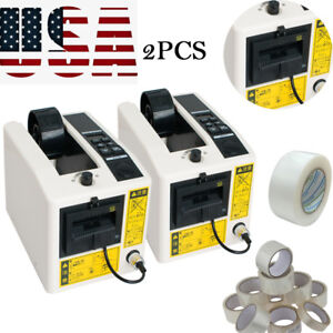2xautomatic Tape Dispensers Adhesive Tape Cutter Packaging Device Operate Fda