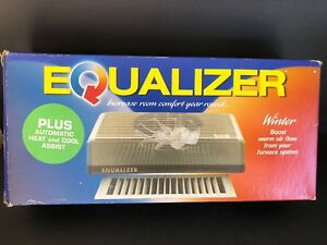 Register Booster Fan Air Flow Thermostatic Air Circulator Furnace central Vent