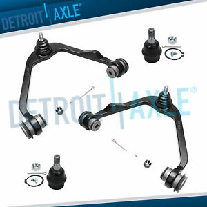 Ford F150 Expedition 2wd Upper Control Arm Ball Joint Set And Lower Ball Joint