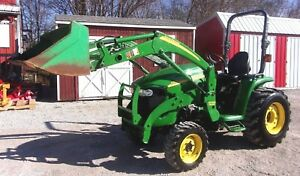 John Deere 3320 4x4 With Jd 300 Cx Loader free 1000 Mile Shipping