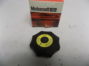 New Oem 1981 1985 Ford Escort Exp Lynx Ln7 1 6l Engine Oil Filler Cap Cover Top