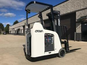 2007 Crown 3000 Pound Narrow Isle Budget Forklift 2 we Will Ship