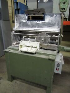 Diamond Blade Cut off Saw Machine From Collinsville Machining Co