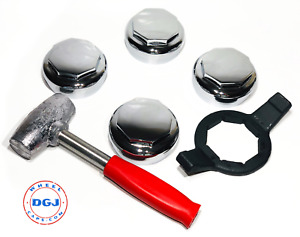 Hex Smooth Knock Off Spinner Wrench And Lead Hammer For Lowrider Wire Wheels