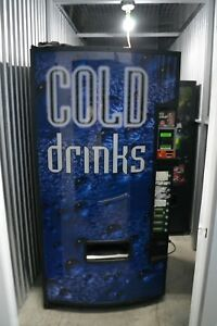 Cold Drink Dixie Narco Beverage Vending Machine
