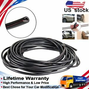 Car Door Edge Guard 32ft Strip Moulding Guards Edge Trim Rubber Seal Protector