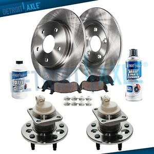 Chevy Impala Monte Carlo Pontiac Grand Prix Rear Wheel Bearings Brake Rotors