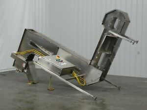 Chl Systems Iic 800 11 Cleated Incline Conveyor 230 460v 3ph d2023