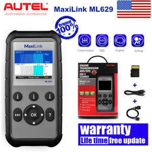 Autel Obd2 Fault Code Reader Clear Erase Scan Tool Engine Abs Srs Airbag Gearbox