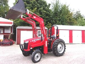 Mf 2605 Tractor With L200 Loader 38 Hp low Hrs free 1000 Mile Shipping