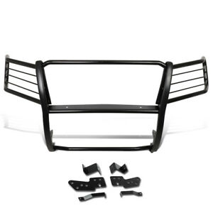 Fit 07 14 Chevy Tahoe Suburban 1 5 Mild Steel Front Bumper Grille Brush Guard