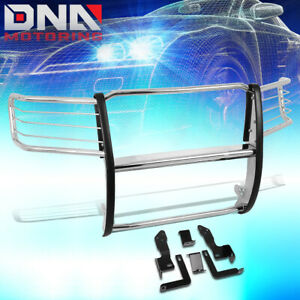 For 2011 2014 Gmc Sierra 2500hd 3500hd Stainless Steel Front Bumper Brush Guard