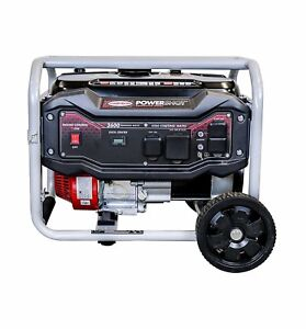 Simpson 4500 w Portable Rv Ready Gas Generator With Electric Start And Wheel Kit