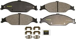 For Ford Mustang Base Gt 1999 2004 Front Disc Brake Pad Set Monroe Brakes Dx804