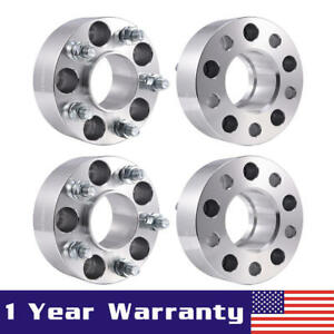 4pcs 2 Hubcentric Wheel Spacers For Jeep Grand Cherokee Wrangler Liberty 5x4 5