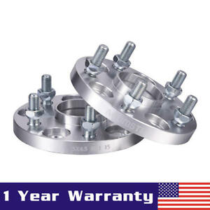 2pcs 15mm Wheel Spacers For Lexus Rx450h Is350 Gs300 Es300h Toyota Camry 5x4 5