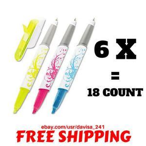 Post it Flag Pen And Highlighter 691 hlp3 3 Count Each Packs 6 Packs Total 18ct