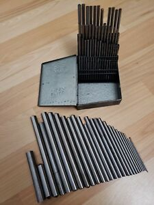Huot Number Drill Blank Set Fractional Drill Blank Set Drill Index Pin Gage