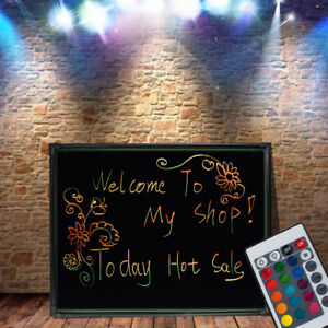 32 24 Led Message Writing Drawing Board Menu Sign Board Neon Cafe Restaurant