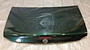1999 2005 Mazda Miata Trunk Lid Third Brake Emerald Mica Oem Nb043