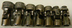 Matco Tools 3 8 Drive 7pc Sae 6pt Universal Socket Set 3 8 Thru 3 4