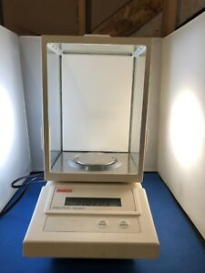 OHAUS Model AS120S Analytical Standard Scale