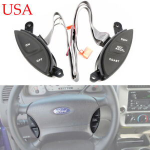 Steering Wheel Cruise Control Switch For Ford Explorer Sport Trac Ranger 98