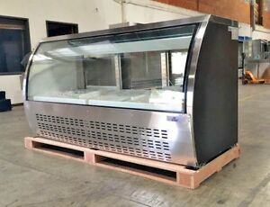 New 80 Commercial Deli Refrigerator Cooler Case Display Fridge Pastry Nsf