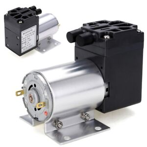 Dc12v Mini Vacuum Pump Negative Pressure Suction Pump 5l min 65kpa With Holder