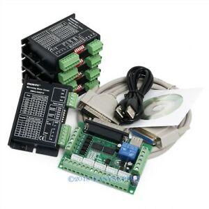 Cnc Kit 5 Axis Breakout Board Engmate Stepper Motor Driver Ema2 040d15