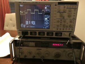 Oscilloscope Lecroy Waverunner Lt344 500mhz 500ms s Dso W Options And Probe