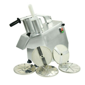 110v Commercial Food Processor Vegetable fruit Slicer Cutter 550whigh Efficiency