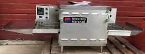 Middleby Marshall Ps520 Nat Gas Conveyor Pizza Contertop Oven Watchvideofreeship