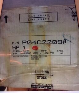 Sterling Electric Dc Drive Hp1 Rpm 1750 V 90 Motor New