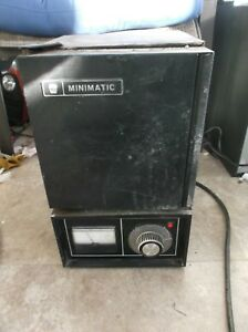 Ney Minimatic Burnout Oven